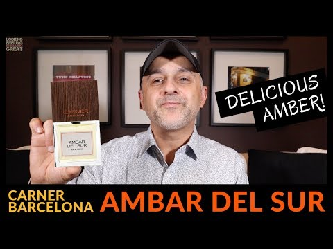 Carner Barcelona Ambar Del Sur Fragrance Review + Full Bottle USA Giveaway