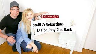 Möbel den Shabby-Chic-Look mit Kreidefarbe verpassen | BAUHAUS