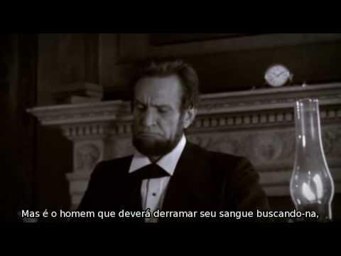 Book Trailer legendado de Abraham Lincoln: Caçador de Vampiros