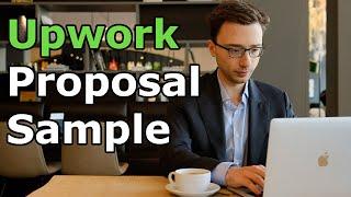 Upwork Proposal Sample (Proven to Work)