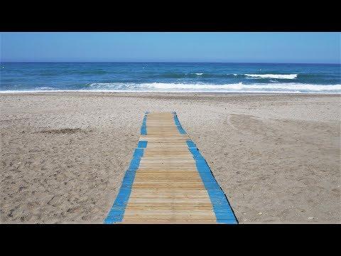 Playa de San Miguel de cabo de Gata Almería