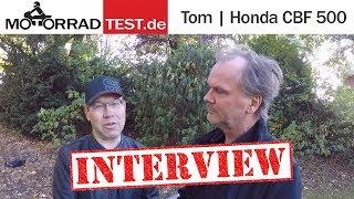 Interview | Tom und seine Honda CBF 500
