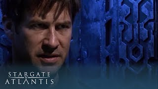 Sheppard Travels Back in Time | Stargate Atlantis