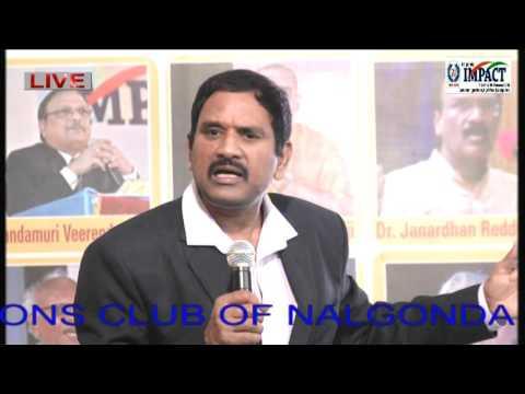 Live In Present-Power of Now|Jayasimha|TELUGU IMPACT Nalgonda 2016-Part1