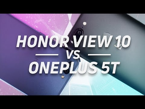 Honor View 10 vs OnePlus 5T