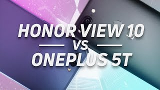 Huawei Honor View 10 vs OnePlus 5T