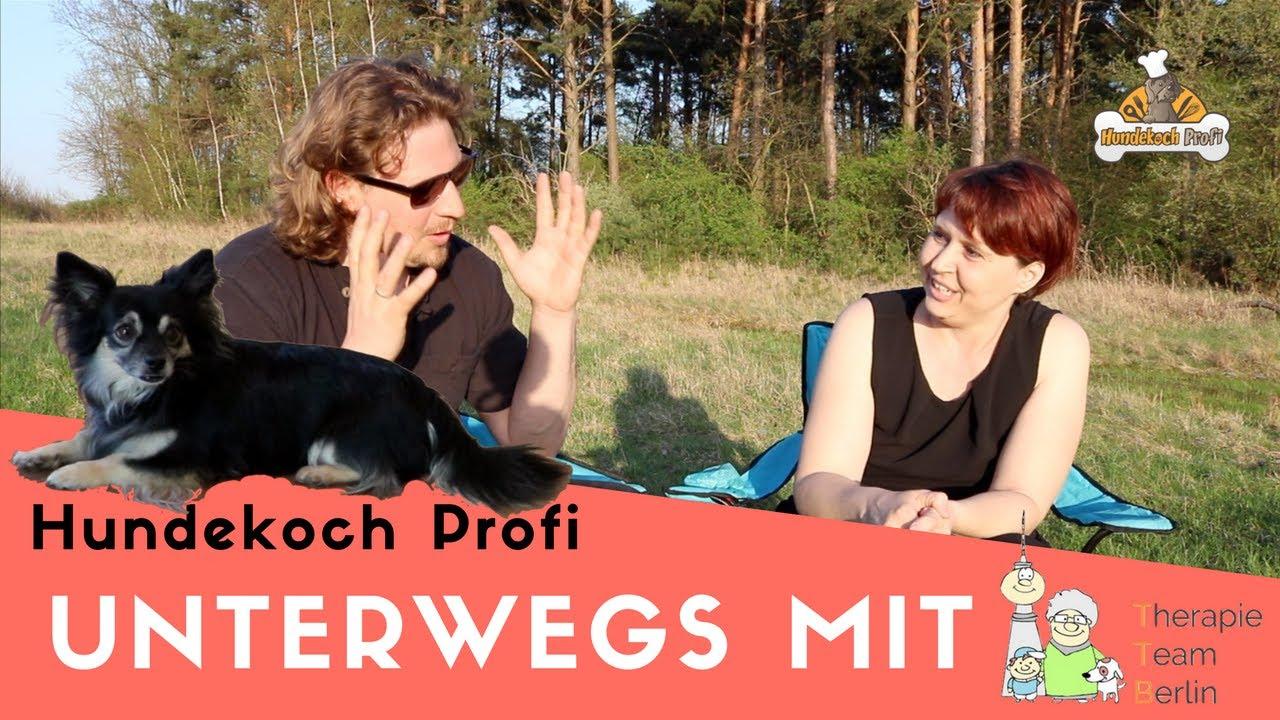 Hundekoch Profi Unterwegs mit dem Therapie Team Berlin