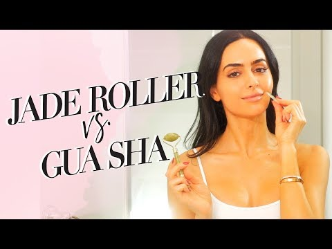 Which Is Better Jade Roller Or Gua Sha | Dr Mona Vand
