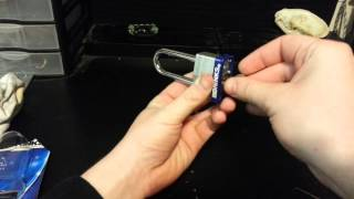 How to Pick Brinks Pad Lock EASY