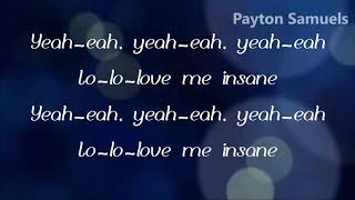 Avril Lavigne – Love Me Insane (Lyrics)
