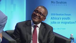 Mo in conversation with Aliko Dangote