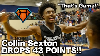 Collin Sexton's MOST CLUTCH High School Performance!! | 43 Points & CRAZY Buzzer Beater in Playoffs