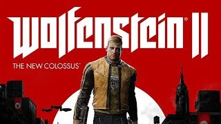 Wolfenstein 2: The New Colossus All Cutscenes (Game Movie) Full Story 1080p 60FPS