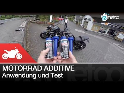 Motorrad Benzin Additive Test Liqui Moly Speed Additive Anwendung und Test Yamaha FZ8 Suzuki GSR750