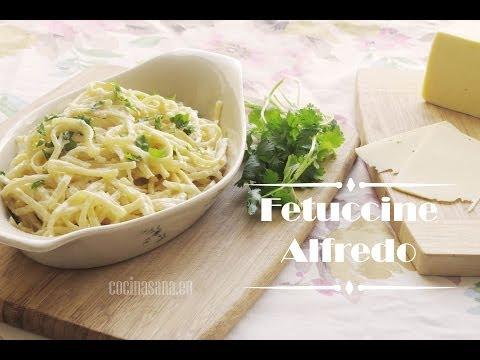 ¿Te Apetece Puro Sabor Italiano? Prepara Estos Fettuccine Alfredo