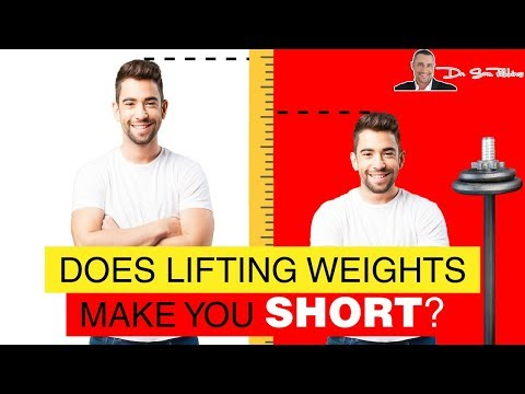 💪 Does Lifting Weights Make You Short? - by Dr Sam Robbins