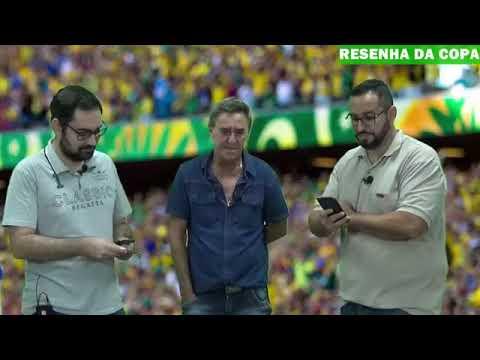 Ozair e Victor entrevistam o técnico do futebol feminino Chicão Reguera