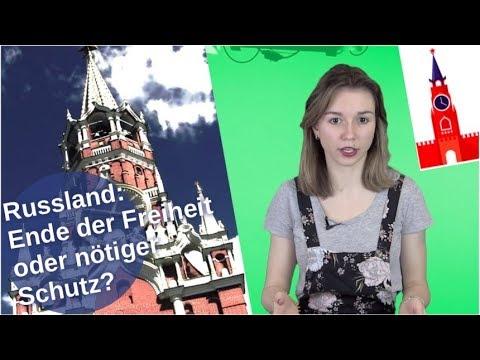 Russland: Ende der Freiheit oder nötiger Schutz? [Video]