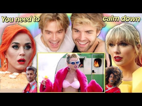 THE GAYS REACT to 'You Need To Calm Down' by Taylor Swift!
