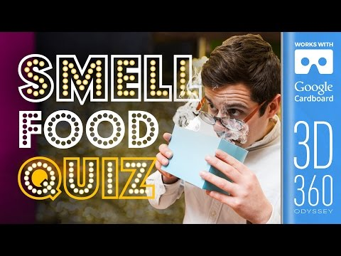 The Smell Round | Common Senses Quiz (VR)