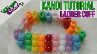 How To Make A Ladder Cuff - [Kandi Tutorial] | @GingerCandE