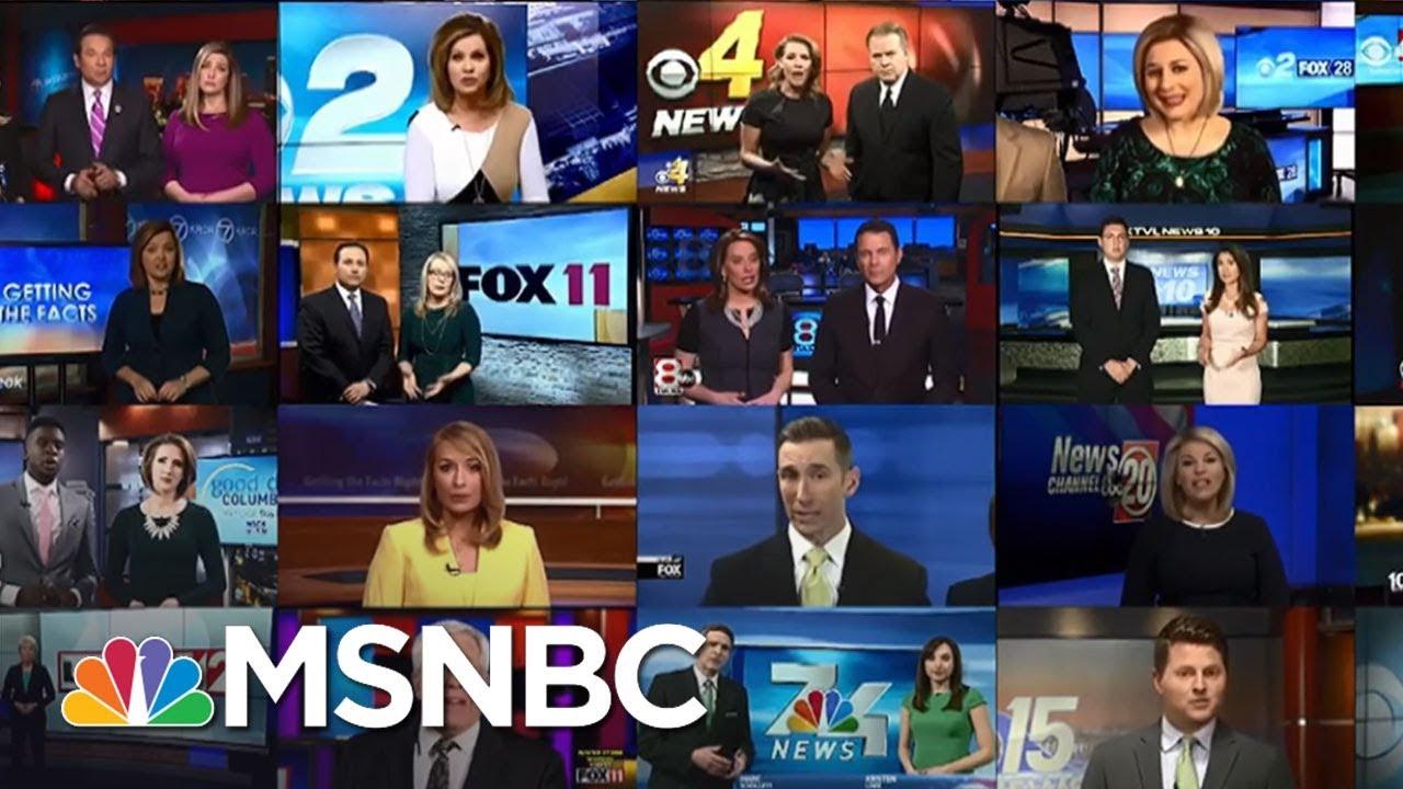 Outrage Over Conservative Sinclair 'Must-Run' Segments | AM Joy | MSNBC thumbnail