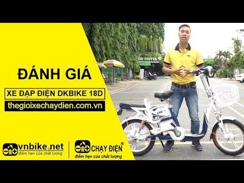 Đánh giá xe đạp điện DKBike 18D
