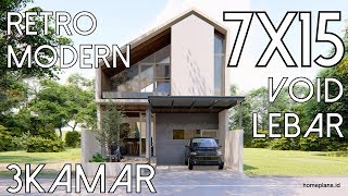 desainfuzziblog: desain rumah 7x15