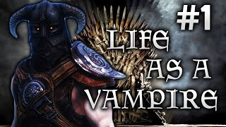 Skyrim Life as a Vampire Episode 1 | Thrall