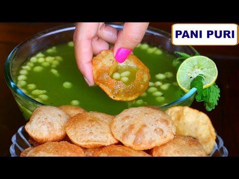 Gol Gappa & Paani Recipe 2 Methods Pani Puri Recipe | CookWithNisha