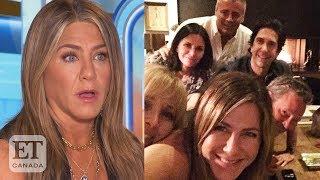 Jennifer Aniston's 'Friends' Reunion For Instagram Debut