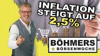 Diese Auswirkungen könnte die steigende Inflationsrate nach sich ziehen