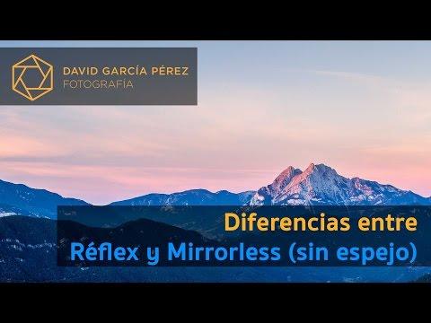 Diferencias entre Réflex y Mirrorless (sin espejo)