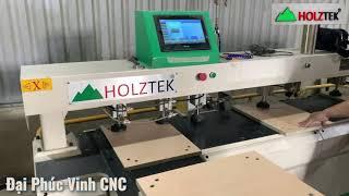 Máy khoan tạo liên kết Cam + chốt | dò lỗ khoan bằng laser | CNC-2500A