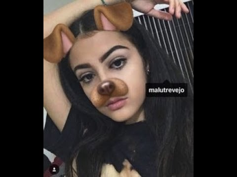 Malu trevajo gets eat out by her dogs