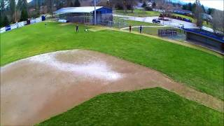 Two Hubsan X4 H501S Onboard Video From Our Stunt Session in the Baseball Field