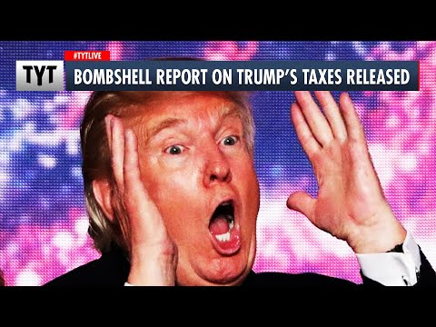 Trump's Taxes Revealed: He's Broke!