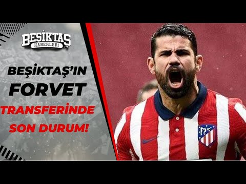 Diego Costa, Beşiktaş'a Transfer Olacak mı? Yabancı Forvet Transferinde Sıcak Gelişmeler...
