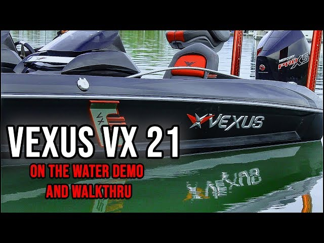 Best Bass Boat Ever Made??!! Vexus VX21 On The Water!