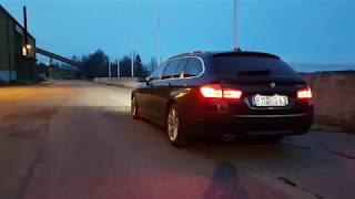 BMW 530D F11 EXHAUST SOUND ACCELERATION