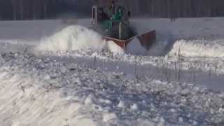 Шиньша- уборка снега