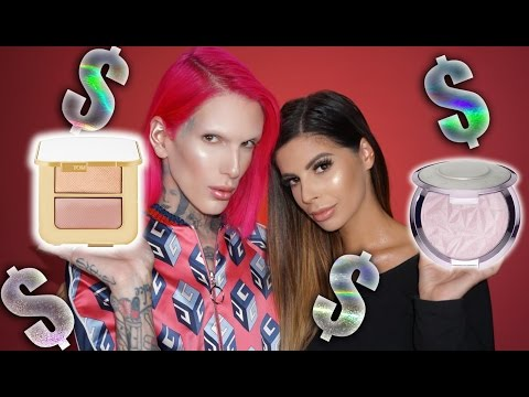 TESTING OUT THE WORLD'S MOST EXPENSIVE HIGHLIGHTERS feat. Laura Lee