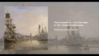 Piano Concerto no. 14 in E-flat major, K. 449