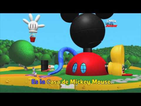 La casa de mickey mouse karaoke infantil para peques - Youtube casa mickey mouse ...