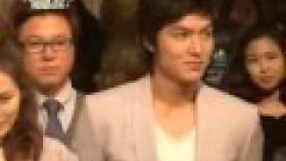 Ли Мин Хо, 100323 MBC Personal Taste Prayer Ceremony