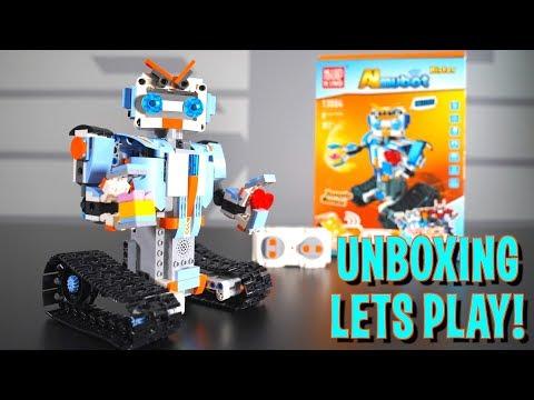 Конструктор MOULD KING «Гусеничный Робот» на радиоуправлении 13004 (Аналог LEGO Boost), 349 деталей