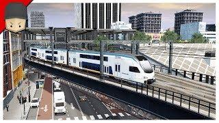 Cities Skylines - S4 Ep.05 : PUBLIC TRANSPORTATION! TRAINS!