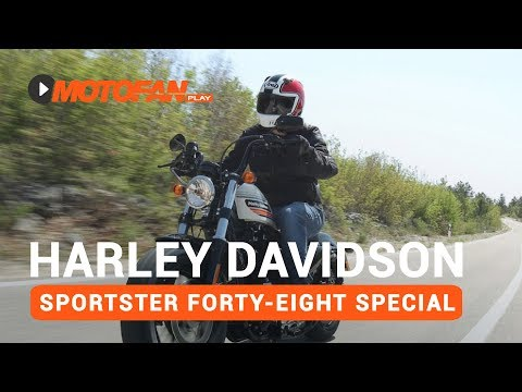 Vídeos Harley Davidson Sportster Forty Eight Special
