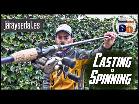 COMO ELEGIR UNA CAÑA PARA PESCAR | SPINNING o CASTING: DIFERENCIAS | www.bofishing.es