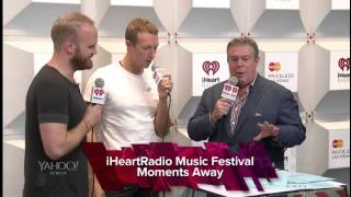 [2014-09-19] Chris + Will iHeartRadio Music Festival Interview